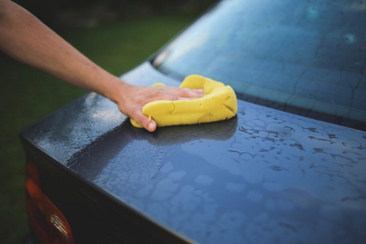 woskowanie auta